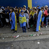 Boca fans pack out their stadium for final training session before Libertadores final