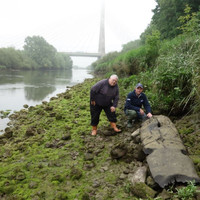 Parts of a logboat found by River Boyne anglers are 5,000 years old