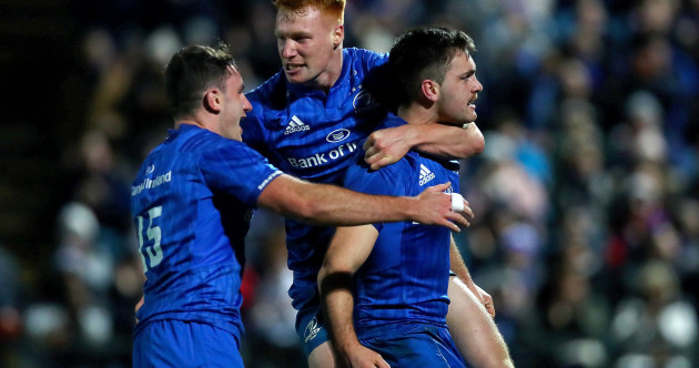 From The42 Leinster s young guns earn their stripes in seven-try rout of  the Ospreys d3e409f09