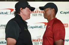 Sky Sports announce live coverage of $9million showdown between Woods and Mickelson