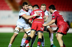 Ulster shoved aside by four-try Scarlets