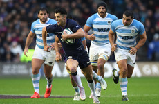 Laidlaw's boot and Maitland try help Scotland to season-ending Pumas win