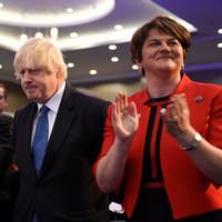 Boris quotes Van Morrison as he criticises backstop deal at DUP conference