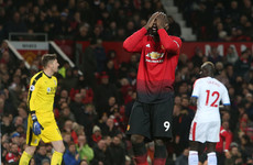 United fire blanks as Mourinho's men left frustrated by Palace stalemate