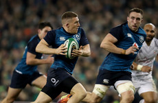 Conway hat-trick helps Ireland to make it four wins from four this November