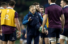 Joe Schmidt strongly hints that he's leaving Ireland after the 2019 World Cup