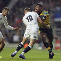 Cheika slams referee Peyper for 'ludicrous decision' on Farrell tackle