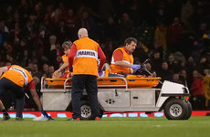 Big injury blow for Wales as flanker Jenkins suffers suspected ACL damage