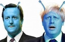 Boris as a martian - but are dirty poster tricks alien to Irish politics?