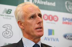 New Ireland boss Mick McCarthy insists he has no issue with Stephen Kenny arrangement