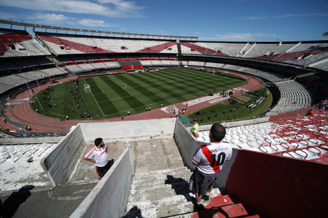 A general view of the stadium.