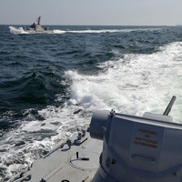 Ukraine backs martial law after confrontation at sea with Russia