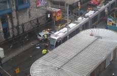 Disruption to Luas Red Line after collision