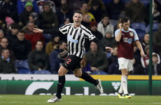 Ireland defender Ciaran Clark on target as Newcastle march on with third straight win