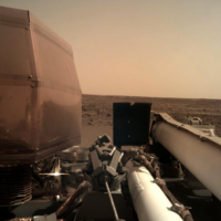 Here are the first photos of Mars from the InSight explorer