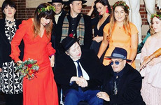 Johnny Depp tried to play a Pogues song at Shane MacGowan's wedding and he was having none of it