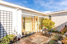 Modernist-inspired design with a courtyard out the back for €625k in Dundrum