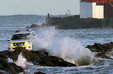 Walker rescued from rocks amid stormy conditions on Great South Wall