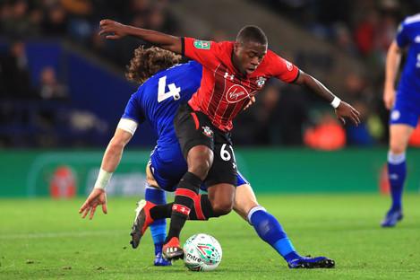 Michael Obafemi has made an encouraging start tonight.