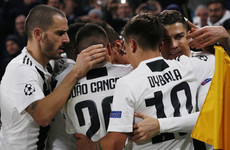 Ronaldo nabs assist as Juventus do Man United a favour with Valencia victory