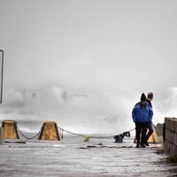 Weather warnings expire but heavy rain and wind forecast in the wake of Storm Diana