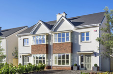 Stylish and spacious commuter-friendly homes in Naas for €345k