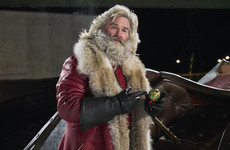 Poll: Are you thirsty for Kurt Russell's ridey Santa on Netflix?