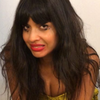 Jameela Jamil criticised diet and detox products by filming herself on a toilet