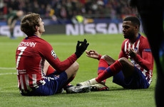 Griezmann on target as Atletico overcome Henry's Monaco to reach Champions League last 16