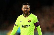 Messi admits Pique assist was 'not something we planned'