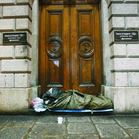 The number of homeless adults in Ireland has risen by 130 in the space of a month