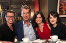 Pierce Brosnan and the cast of Mrs Doubtfire had a lovely reunion for the film's 25th anniversary