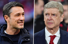 Kovac receives vote of confidence as Wenger coy on Bayern talk