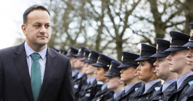 Taoiseach tells new gardaí: 'Your loyalty is not to the person in the uniform. It is to the uniform and all that it stands for'
