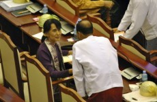 Two years after house arrest release, Aung San Suu Kyi takes parliamentary seat