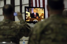 On Afghan trip, Obama says US is on a path to 'destroying Al Qaeda'