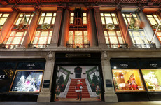 The Christmas window displays are back at the Clerys building - take a look