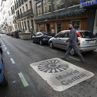 Madrid takes drastic action to curb emissions by closing city centre to car traffic