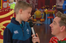Cousins Scott and Grace are the true stars of this year's Late Late Toy Show thanks to his priceless gift