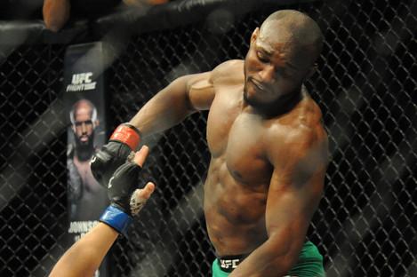 Kamaru Usman was victorious on Friday night.