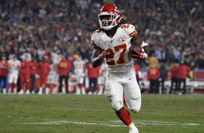 NFL star Kareem Hunt fired as video shows alleged assault on woman