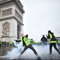 At least 224 people arrested and 80 injured in 'yellow vest' protests in Paris