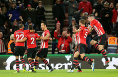 18-year-old Irish striker makes first Premier League start, as Southampton pile pressure on Mourinho