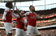Second-half blitz sees Arsenal power past Spurs in six-goal North London derby