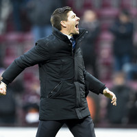 Rangers come from behind to beat Hearts and go top of Scottish Premiership