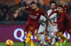Inter twice pegged back by Roma to fall further behind Serie A leaders Juve