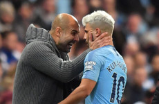'If he plays, maybe it's four or five weeks off': Aguero fitness scare ahead of busy December