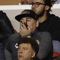 Walkie-talkie-toting Maradona watches from stands as his Mexican club fall short of promotion dream