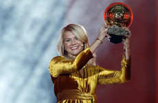 Norwegian striker Hegerberg makes history by winning first women's Ballon d'Or