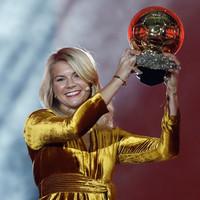 Norwegian striker Hegerberg makes history by winning first women's Ballon d'Or
